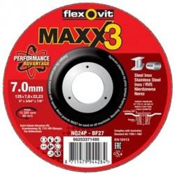 Abrasivo Desbaste FlexOvit MAXX3