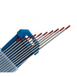 Electrodo tungsteno ROJO - WT20 TIG