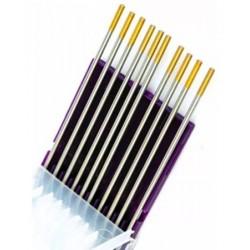 Electrodo tungsteno DORADO - WL TIG